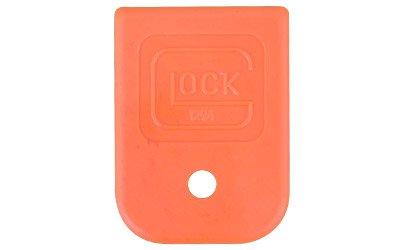 Glock Factory OEM Orange Magazine Base Floor Plate for 9mm .40 .357 .380 Auto .45 GAP Mags - SP01294 (Single Piece Bulk Packaged) (Magazine Base Glock 17)