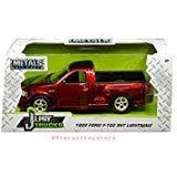 - New DIECAST Toys CAR JADA 1:24 W/B - Metals - JUST Trucks - 1999 Ford F-150 SVT Lightning (Candy RED) 30357-MJ