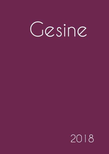 Read Online 2018: Namenskalender 2018 - Gesine - DIN A5 - eine Woche pro Doppelseite (German Edition) ebook