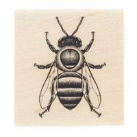 Honey Bee Rubber StampNew by: CC by CraftyCrocodile