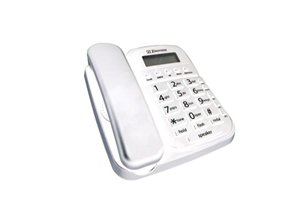 (Southern Telecom Big Button Speakerphone w/CID, Whtie (SO-EM2646-WH) Category: Single Line Corded Telephones)