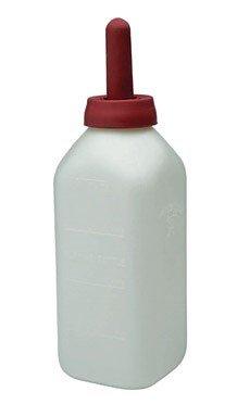 LITTLE GIANT 98-12 2-Quart Nursing Bottle with Snap-On Nipple, Natural