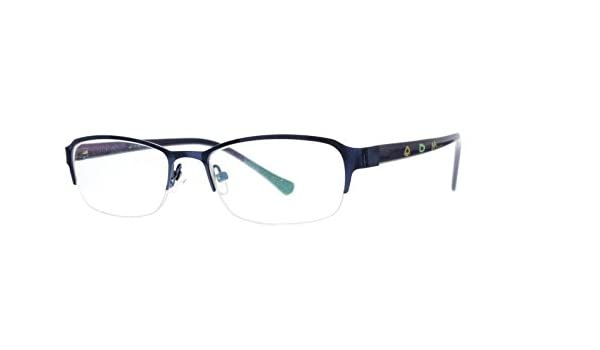 d61d4f755bbac Amazon.com  EyeBuyExpress Kids Childrens Reading Glasses Blue Half Rim  Oval  Health   Personal Care