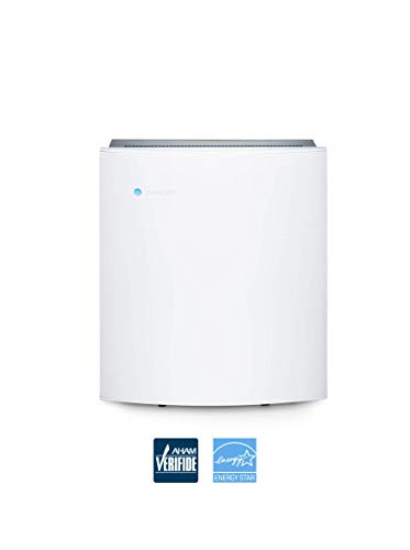 Blueair Classic 205 Air Purifier With Hepasilent Filtration For Allergen And Hay Fever Reduction Small Rooms 279 Sq Ft Wifi Enabled Alexa Compatible
