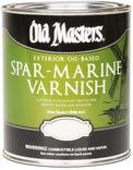 OLD MASTERS 92301 Spar Marine Varnish, Satin