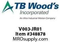 TBWOODS V003-JR01 CODE R COOLER VALVE