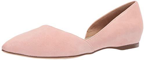 Naturalizer Women's Samantha Pointed Toe Flat, Rose Pink, 8 N US