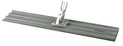 Bon 12-355 48-Inch by 8-Inch Square End Magnesium Bull Float with Threaded Handle Bracket