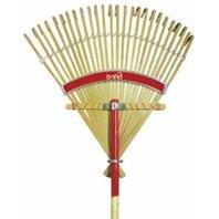 Bond 848 24-Inch Deluxe Bamboo Lawn Rake