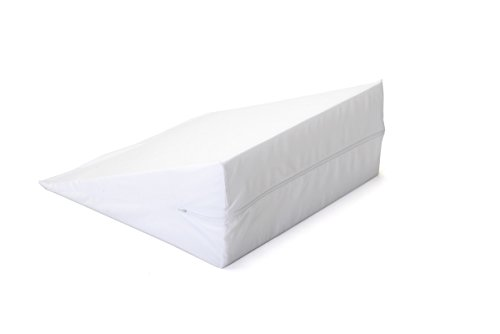 Zippered Cover for Hermell Products 10 inch Bed Wedge FW4080, White