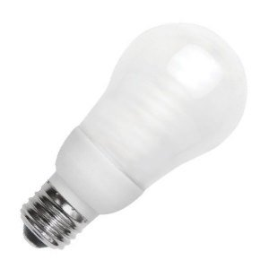 Cold Cathode Light Bulb (TCP 8A05F Cold Cathode A Line A17 - 25 Watt eq. (only 5w used) Soft White (2700K) Medium Base Frosted  Light Bulb (200 Lumens))