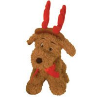 """Kyjen Holiday Singing Dog Toy, """"Jingle Bells"""" – Red, My Pet Supplies"""