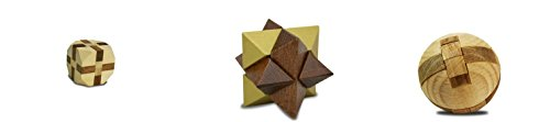 Project Genius True Genius Puzzles - Mosaic Tile - Aztec Sun Stone - Lighthouse Flame