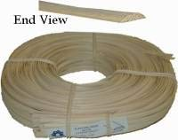 Flat Oval Reed Splint (Oval Top, Flat Bottom) 1/4'' Wide - Wicker Furniture Repair Supplies, Chair/Basket Weaving Tools, Chair Cane R-7612