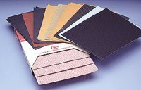 Premier Red Aluminum Oxide Dri-Lube Resin Paper Open 9'' x 11'', Grading: P80 B 0912 DO Packaging: 50 Sheets
