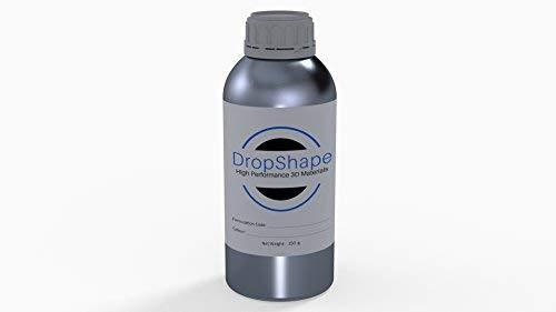 DropShape Fastest Printing Photopolymer Resin for UV LED/DLP/LCD/SLA 3D Printer, Orange 250 gm