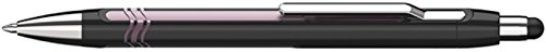 (Schneider Slider Epsilon Touch Stylus/Ballpoint Pen, Black/Pink Barrel, Blue (138704))
