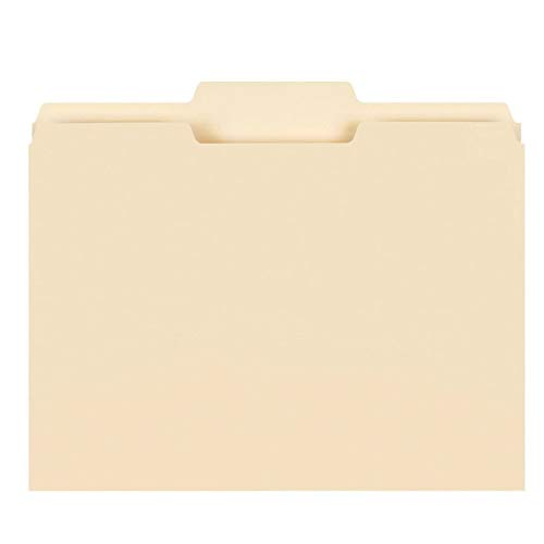 Office Depot File Folders, 1/3 Cut, Letter Size, Manila, Pack Of 250, 645927 -