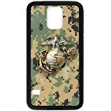 Galaxy S5 Styly Camo USMC Marine Corps Logo Case Cover for Samsung Galaxy S5 Personalized CHG CASE