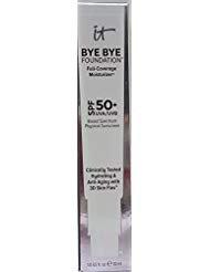 it cosmetics BYE BYE Foundation Full Coverage Moisturizer SPF50+ UVA/UVB Fair 1 fl oz / 30 ml