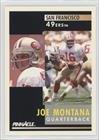 Joe Montana (Football Card) 1991 Pinnacle - [Base] #66