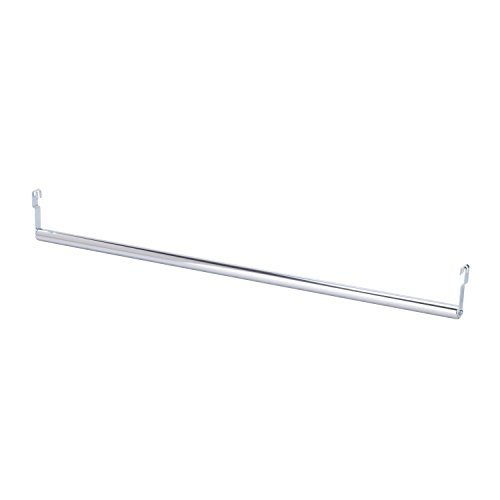 Honey-Can-Do SHF-03939 Expandable Garment Bar, Adjusts from 36-48-Inches, Chrome, 48L x 3H