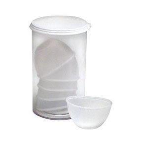 Plastic Eye Cups 6/Plastic Vial Medique Products