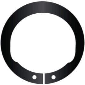 2-3//4 Inverted External Snap Ring Stamped USA Spring Steel Standard Duty Pkg of 8 SHI-275