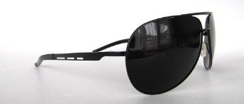 8a3c54b726c Image Unavailable. Image not available for. Color  Mercedes Benz Aviator  Black MB56701 Designer Sunglasses