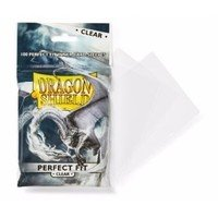 Arcane Tinman Dragon Shield AT-13001 Sleeves (100 Piece), Clear, One Size