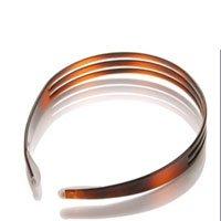 Split Headband (Scunci split rubber tipped oval shaped headband - 9 ea)
