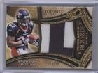 Knowshon Moreno; Chris Wells #3/50 (Football Card) 2009 Upper Deck Exquisite Collection - Big Patch Match Up Rookies #KMCW