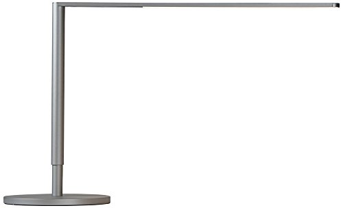 Koncept Lady-7 Silver LED Desk Lamp with USB Port by Koncept