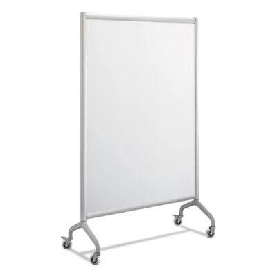 Safco Products 2017WBS Rumba Full Panel Collaboration Screen Whiteboard 42 x 66'', Gray Frame by Safco Products