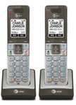 AT&T CLP99003 Extra Handset & Charger DECT 6.0 Technology 1.9GHz (2 Pack) by AT&T