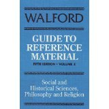 Walford's Guide to Reference Material, Marilyn Mullay, 1856040151