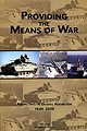 Providing the Means of War, , 0160723817