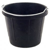 (Fortex Rubber Light-Weight Utility Pail for Small Animals,)