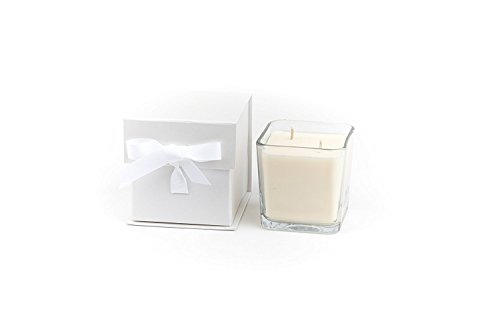 Ergo Soy Candle Pearl Collection (Rosemary Double Wick- 21 Ounce) -