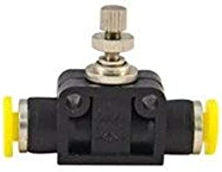 "product image for Clippard PQ-FV04 in-Line Plastic Flow Control for 1/8"" OD Tubing"