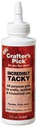 Pick Crafters - Bulk Buy: Crafter's Pick Incredibly Tacky 4 Ounces (3 pack)