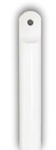 "gmagroup Blind Tilt Wand Rod Replacement - Easy to Install - Built in Tip - 36"" White"