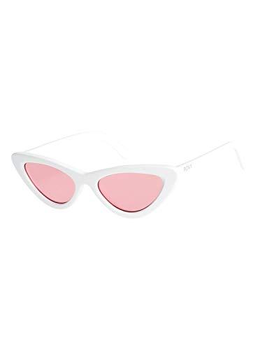 Blanc Shiny Roxy Pour Erjey03086 Soleil Moonrock Lunettes Femme De White pink 68P6q0