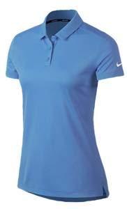 ナイキ レディース/ウーマン ポロシャツ Nike Dri-Fit Victory Golf Polo 半袖 Tシャツ ゴルフ University Blue/White [並行輸入品] L  B07MR6PF5D