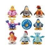 Club Penguin 2' Mix - Disney Club Penguin 8 Pack Assortment - 2 '' Mix 'N Match Figures [parallel import goods]