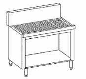 Krowne Metal KR18-S18C Royal 1800 Series Underbar Hand Sink Storage Cabinet 18