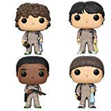 Funko Pop! TV: Stranger Things in Ghostbusters Costumes (Set of 4)]()