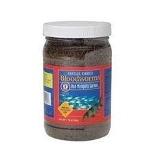 SAN FRANCISCO BAY Brand Freeze Dried Bloodworms - Fish Bloodworms