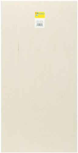 """Midwest Products Co. Midwest Products 5316 Birch Plywood, 1/4 x 12 x 24-Inch, 12""""X.25""""X24"""", Beige"""