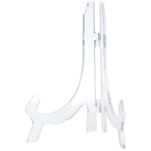 10 H Clear Classic Plastic Easels